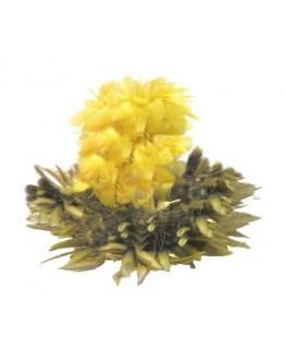 Срібна Хризантема білий в'язаний чай Османтус
