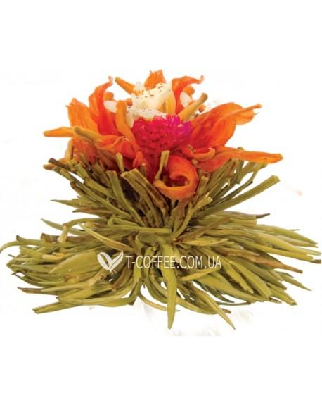 Счастливое Сердце зеленый вязаный чай Чайна Країна