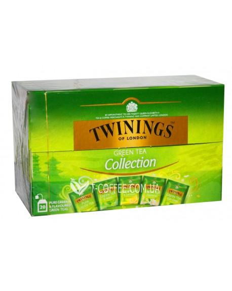 Чай TWININGS Collection Green Tea Ассорти Зеленый Чай 20 х 1,5 г (070177174743)