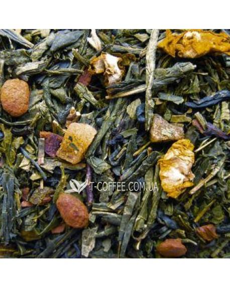 Мангустин зеленый ароматизированный чай Чайна Країна
