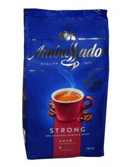 Кофе AMBASSADOR Strong зерновой 1 кг (8720254065120)