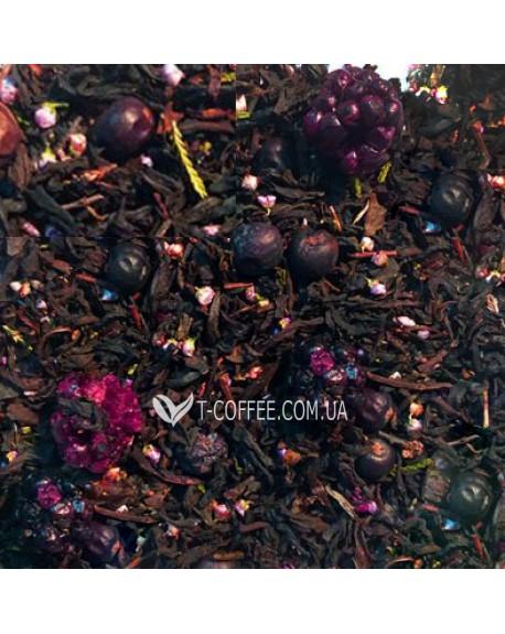 Смородиновый Бум черный ароматизированный чай Країна Чаювання 100 г ф/п