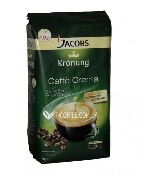 Кофе Jacobs Kronung Caffe Crema зерновой 1 кг (8711000509470)