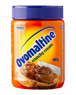 Шоколадна паста OVOMALTINE Cranchy Cream 400 г скл. б.