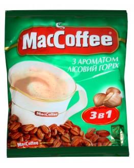 Кофе MACCOFFEE 3в1 Hazelnut Лесной Орех растворимый 20 х 18 г эконом.пак. (8887290109864)