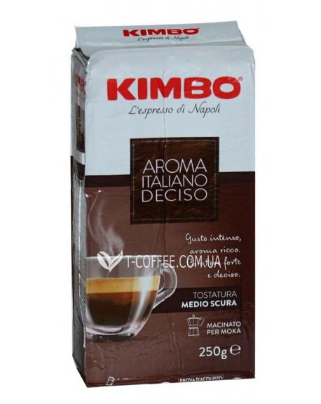 Кофе KIMBO Aroma Italiano Gusto Deciso молотый 250 г (8002200106010)