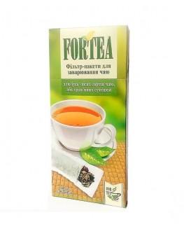 Фільтр-пакет для чаю 100 х 300 мл FORTEA (Дніпро) к/п