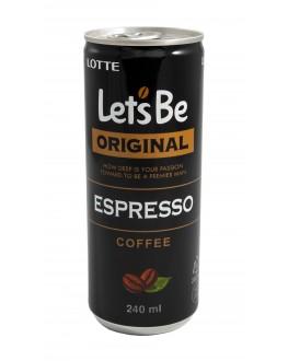 Напій LOTTE Let`s Be Original Espresso кавовий 240 мл