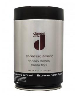 Кофе DANESI Doppiodanesi зерновой 250 г ж/б (8000135013984)