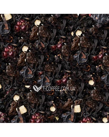 Лесные Ягоды черный ароматизированный чай Країна Чаювання 100 г ф/п