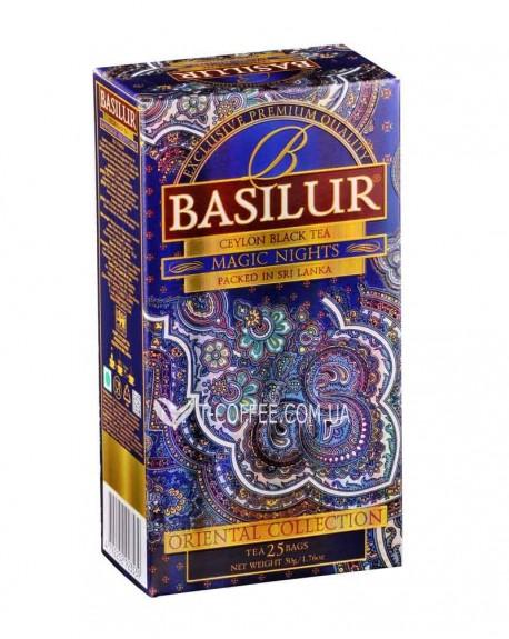 Чай BASILUR Magic Nights 1001 Ночь – Восточная 25 х 1,5 г (4792252923539)