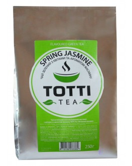 Чай TOTTI Spring Jasmine Весенний Жасмин 250 г ф/п (8719189233360)