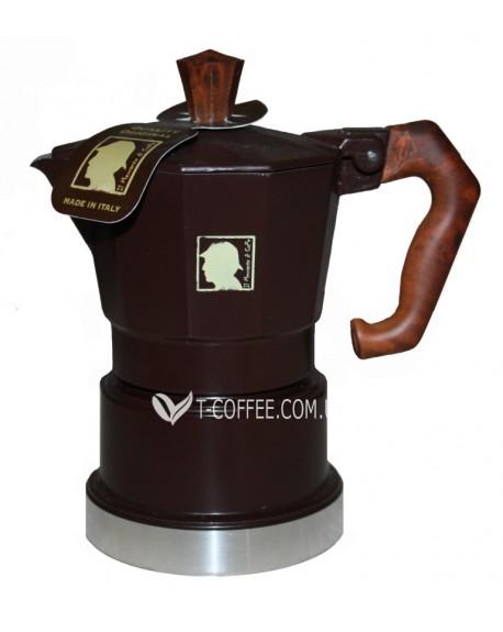 Кофеварка гейзерная Chicco d'Oro 6 чашек коричневая
