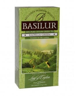 Чай BASILUR Radella Раделла - Лист Цейлона 25 х 1,5 г (4792252917514)