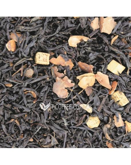 Венский Шоколад черный ароматизированный чай Світ чаю