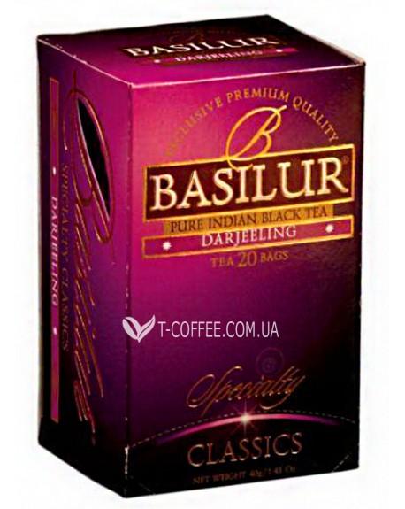 Чай BASILUR Darjeeling Дарджилинг - Избранная Классика 20 х 2 г (4792252000506)