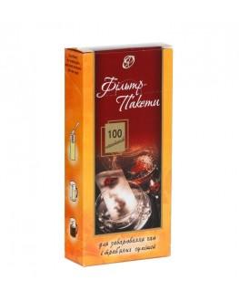 Фільтр-пакет для чаю 100 х 300 мл к/п