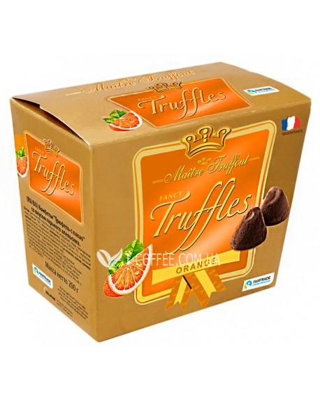 Конфеты Maitre Truffout Orange Flavour Трюфель Апельсин 200 г (9002859102172)