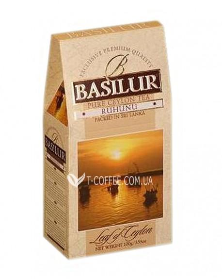 Чай BASILUR Ruhunu Рухуну - Лист Цейлона 100 г к/п (4792252100107)