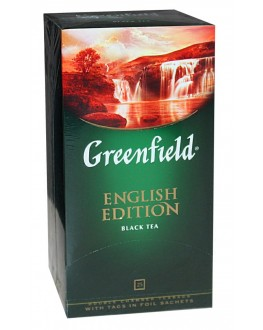 Чай GREENFIELD English Edition Английская Коллекция 25 х 2 г (4823096805764)