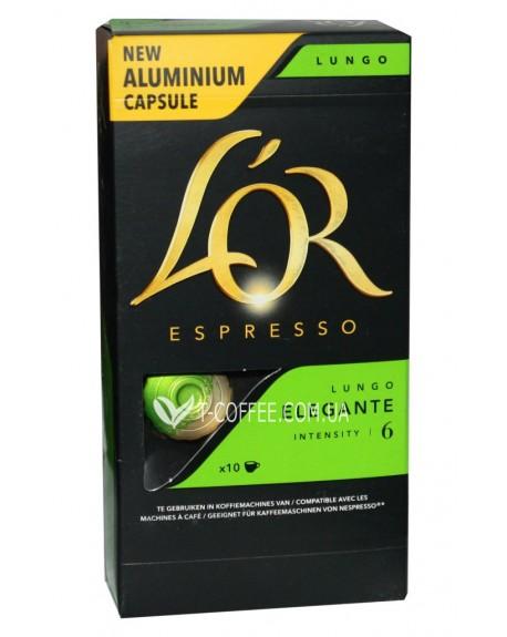 Кофе L'OR Nespresso Espresso Elegante Lungo в капсулах 10 х 5,2 г (8711000360026)