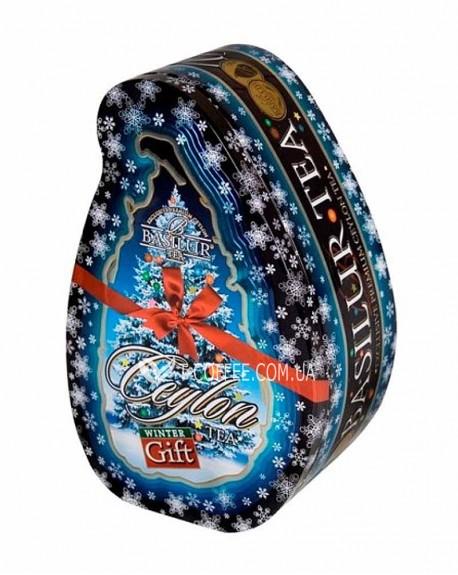 Чай BASILUR Winter Gift Зимний подарок - Чайный остров 100 г ж/б