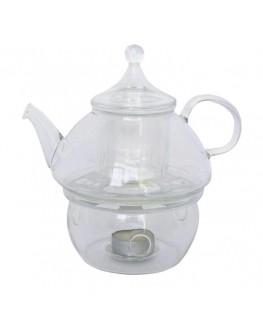 Чайник скляний Зорепад 750 мл