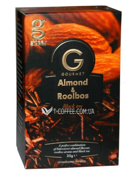 Чай Grace! Gourmet Almond Rooibos Миндаль Ройбуш 20 х 1,75 г (5060207697330)