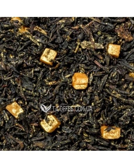 Golden Stars черный ароматизированный чай с пищевым золотом Чайна Країна