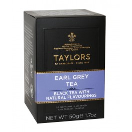 Чай TAYLORS Earl Grey Tea Эрл Грей 20 х 2,5 г...