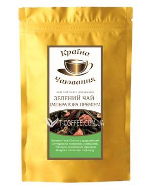 Зеленый Чай Императора зеленый ароматизированный чай Країна Чаювання 100 г ф/п