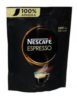 Кофе NESCAFE Espresso 100% Арабика растворимый 200 г эконом.пак. (7613036632959)