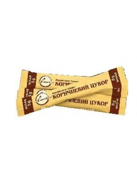 Сахар тростниковый коричневый не рафинированный Demerara в стиках 200 х 5 г