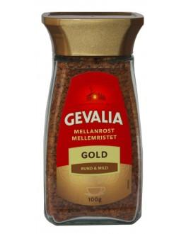 Кофе GEVALIA Mellan Rost Gold растворимый 200 г ст. б. (8711000369951)