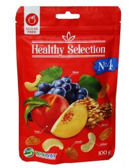 Горіхово-фруктова суміш HEALTHY SELECTION №4 100 г (4821912901430)