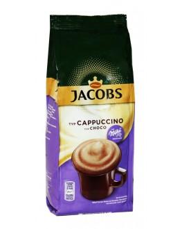 Капучино JACOBS Cappuccino Choco с шоколадом MILKA 500 г (8711000524589)