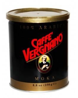 Кава CAFFE VERGNANO Arabica 100% Moka мелена 250 г ж/б (8001800000223)