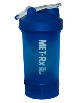 Бутылка-шейкер MET-RX синяя 450 мл