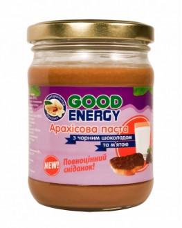 Арахисовая паста GOOD ENERGY с черным шоколадом и мятой 250 г (4820175570438)
