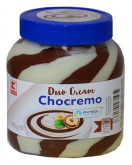 Шоколадно-горіхова паста Duo Cream Chocremo 750 г ст. б. (4337185461767)