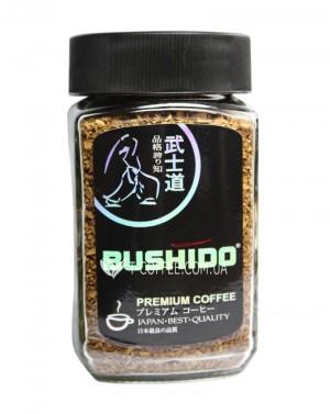 Кофе Bushido Black Katana растворимый 100 г ст. б. (7610121710301)