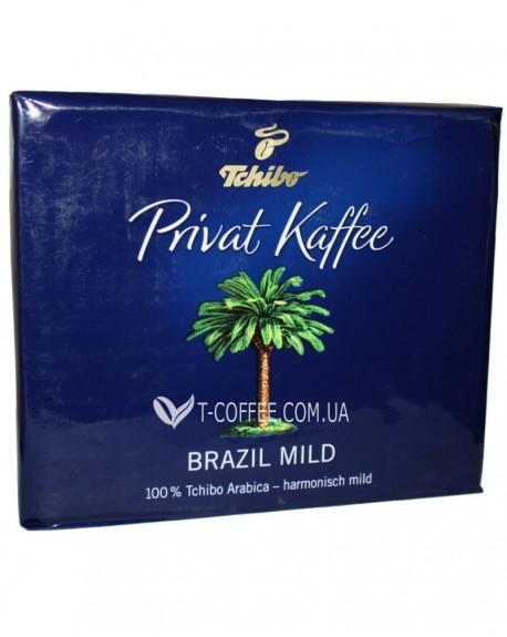 Кофе Tchibo Privat Kaffee Brazil Mild молотый 2 х 250 г (4006067006173)