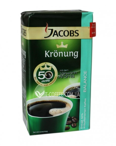 Кофе Jacobs Kronung Balance молотый 500 г