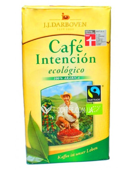 Кофе JJ DARBOVEN Cafe Intencion Ecologico Cafe Crema молотый 500 г (4006581002606)