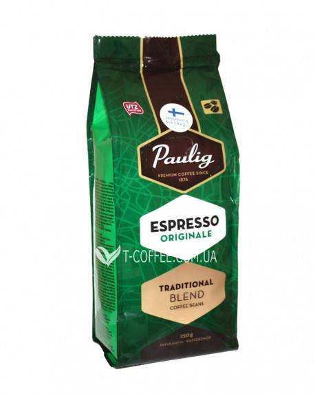 Кофе Paulig Espresso Originale зерновой 250 г