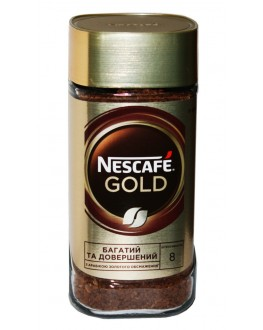 Кофе NESCAFE Gold цельнозерновой растворимый 190 г ст. б. (7613036749466)