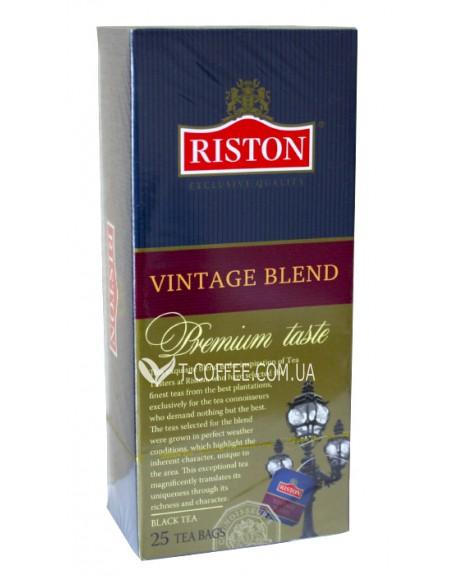 Чай Riston Vintage Blend Винтаж Бленд 25 х 1,8 г