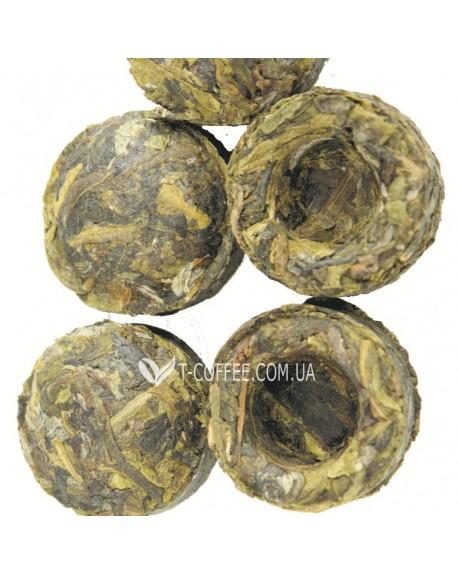 Пу Эр Зеленый Прессованный чай Світ чаю