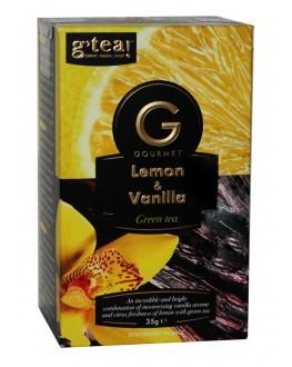 Чай GRACE! Gourmet Lemon Vanilla Лимон Ваніль 20 х 1,75 г (5060207697354)