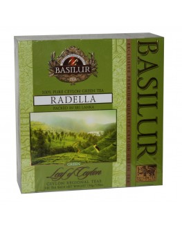 Чай BASILUR Radella Раделла - Лист Цейлона 100 х 1,5 г (4792252916777)